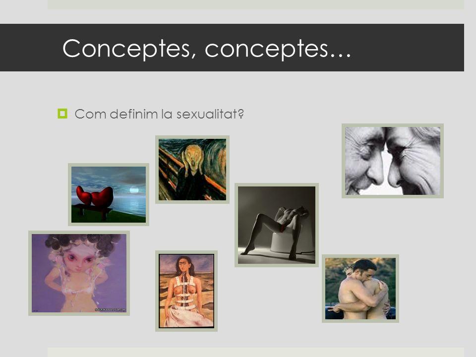 Conceptes, conceptes… Com definim la sexualitat