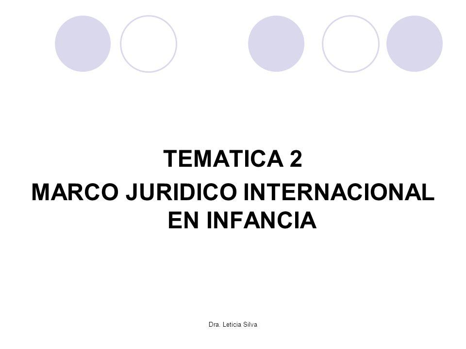 MARCO JURIDICO INTERNACIONAL EN INFANCIA