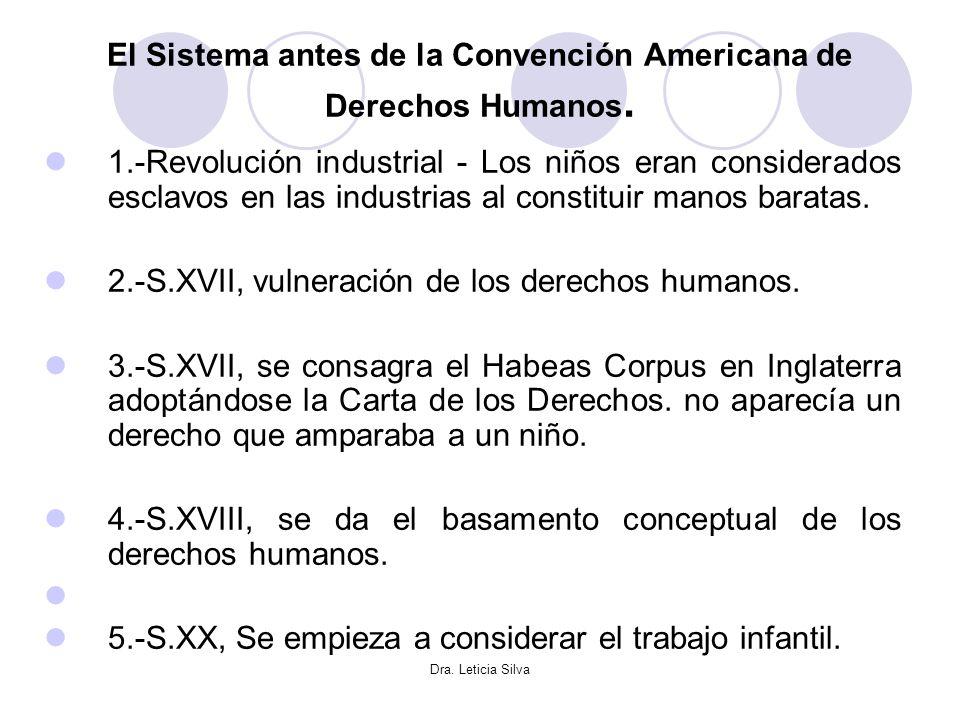 El Sistema antes de la Convención Americana de Derechos Humanos.