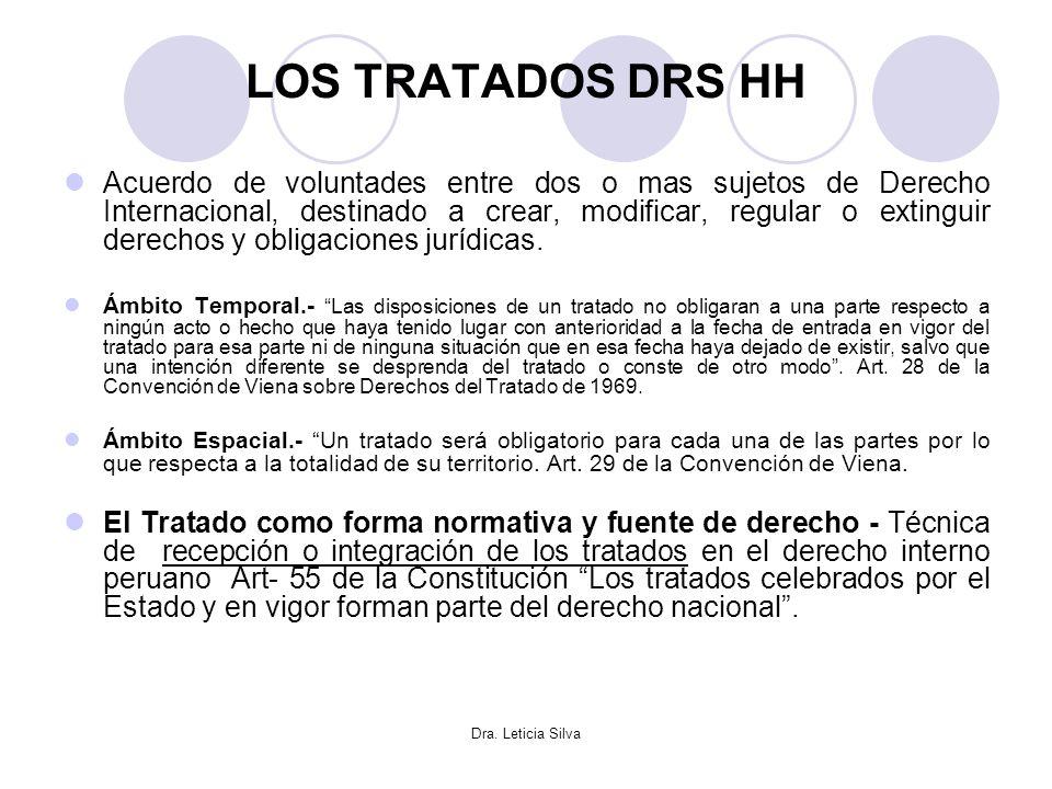 LOS TRATADOS DRS HH