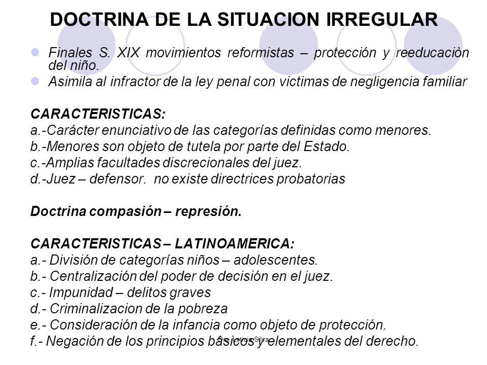 DOCTRINA DE LA SITUACION IRREGULAR