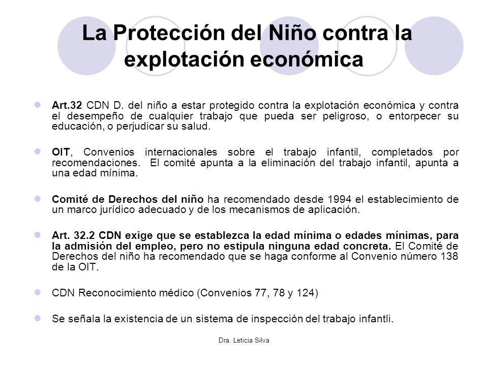 La Protección del Niño contra la explotación económica
