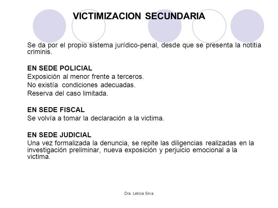 VICTIMIZACION SECUNDARIA