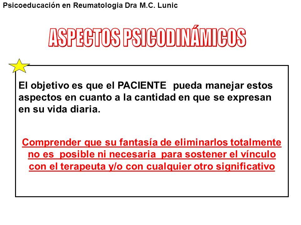 ASPECTOS PSICODINÁMICOS