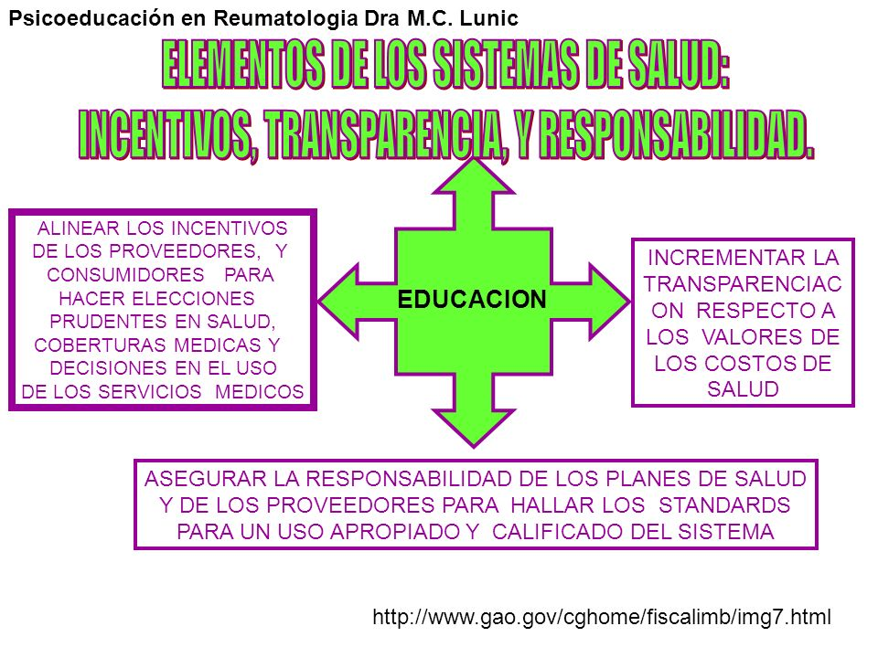 ELEMENTOS DE LOS SISTEMAS DE SALUD: