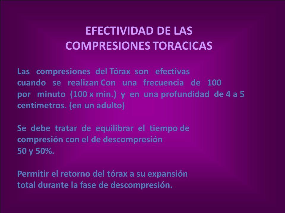 COMPRESIONES TORACICAS