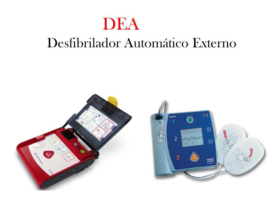 DEA Desfibrilador Automático Externo