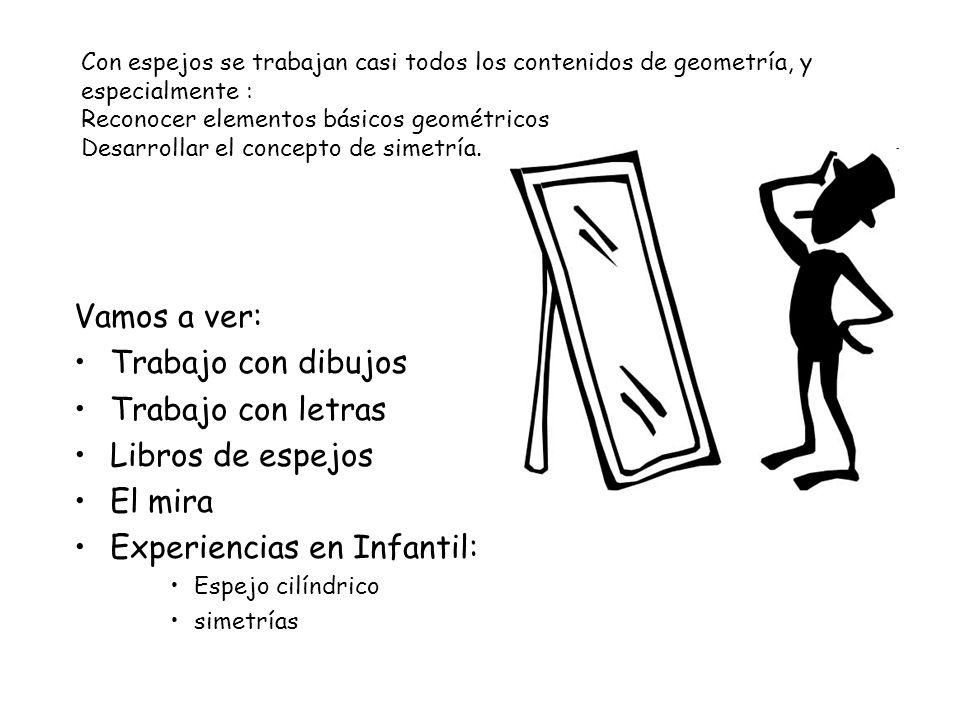 Experiencias en Infantil:
