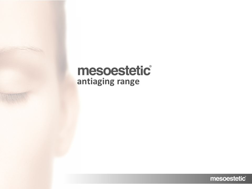 antiaging range