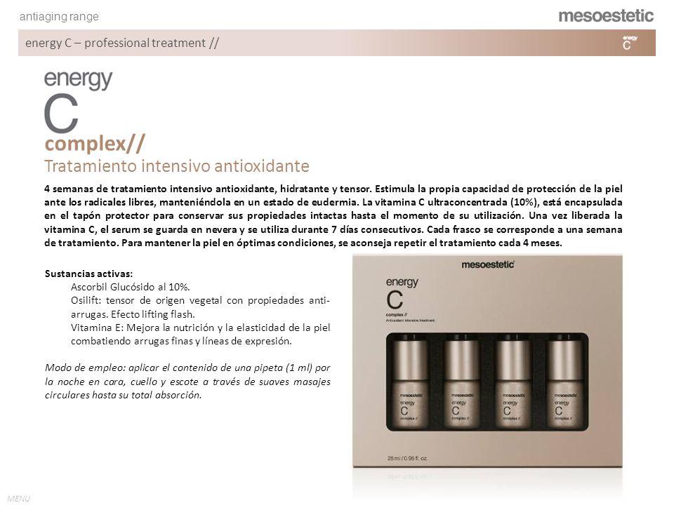 complex// Tratamiento intensivo antioxidante
