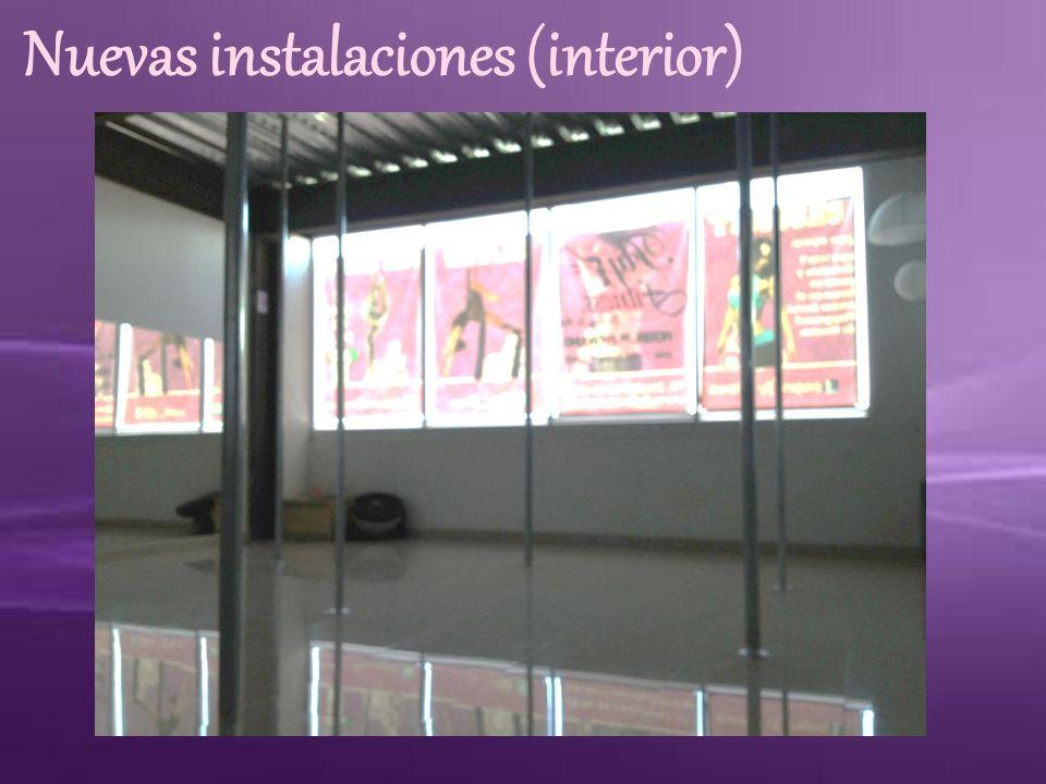 Nuevas instalaciones (interior)