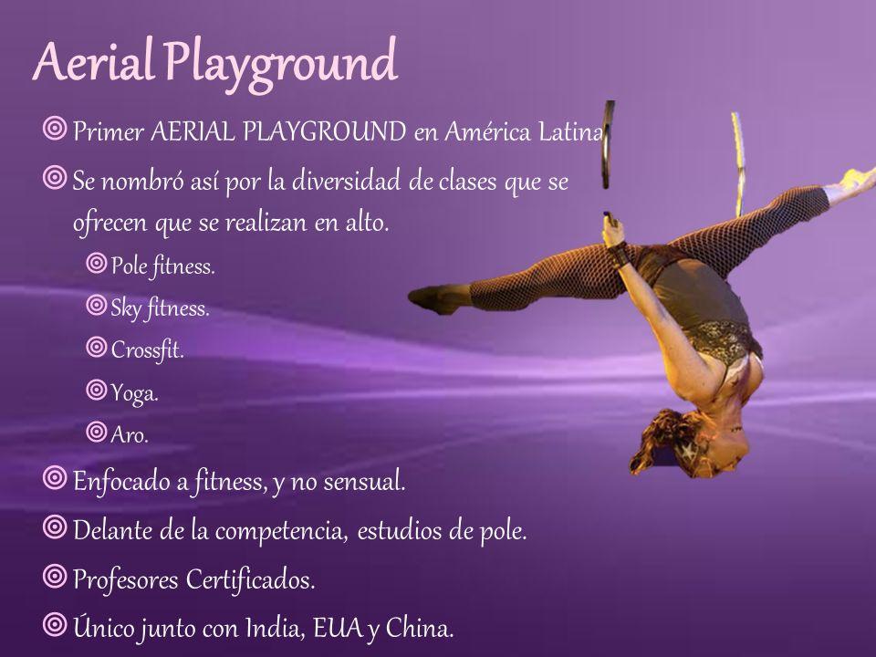 Aerial Playground Primer AERIAL PLAYGROUND en América Latina.