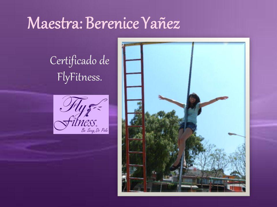 Maestra: Berenice Yañez