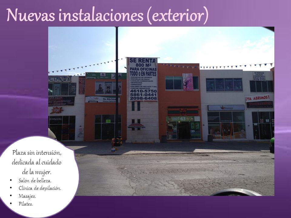Nuevas instalaciones (exterior)