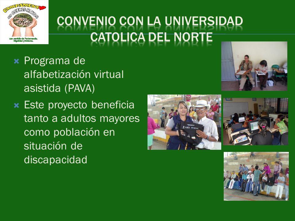 CONVENIO CON LA UNIVERSIDAD CATOLICA DEL NORTE