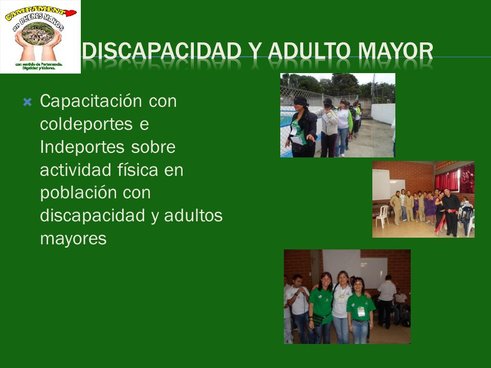 DISCAPACIDAD Y ADULTO MAYOR