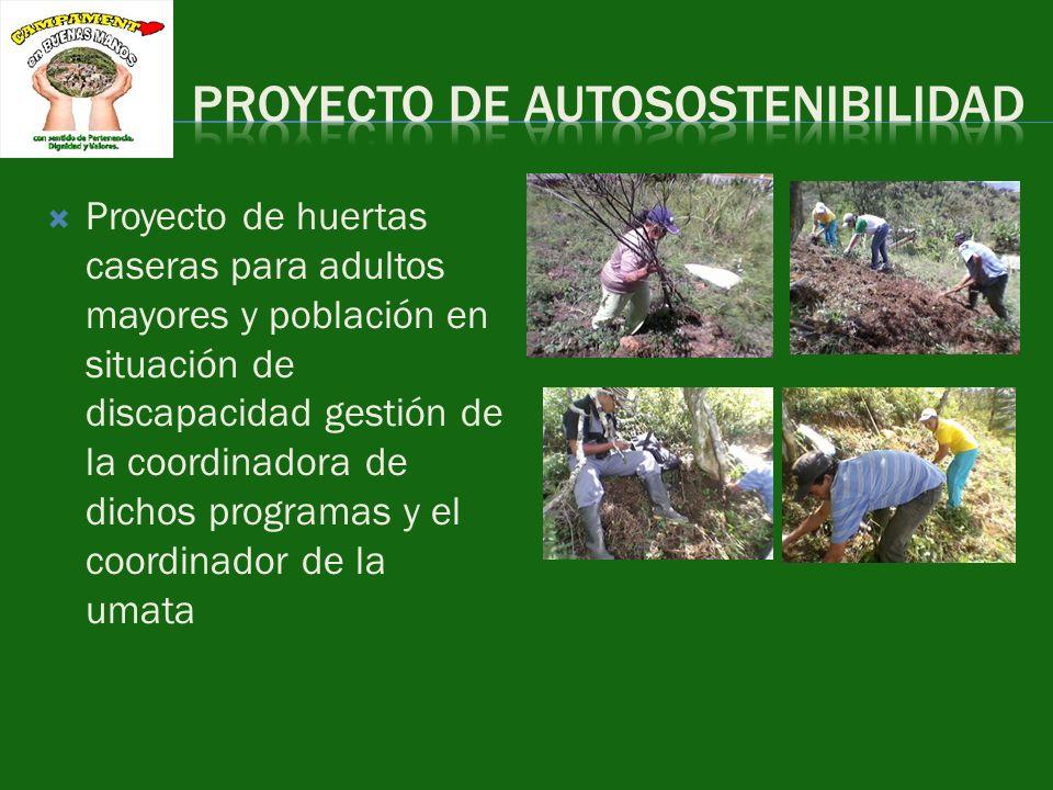 PROYECTO DE AUTOSOSTENIBILIDAD