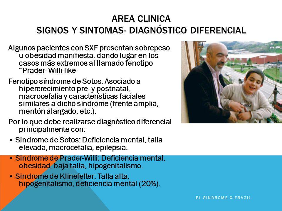 Area clinica signos y sintomas- diagnóstico diferencial