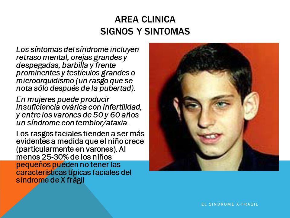 Area clinica signos y sintomas