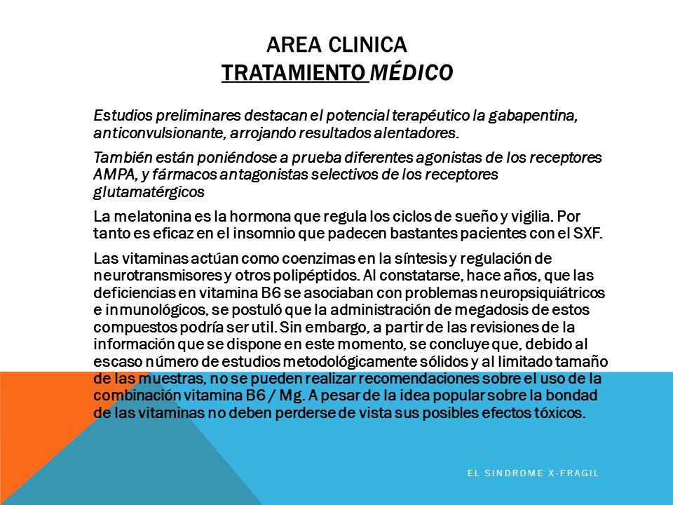 Area clinica TRATAMIENTO médico