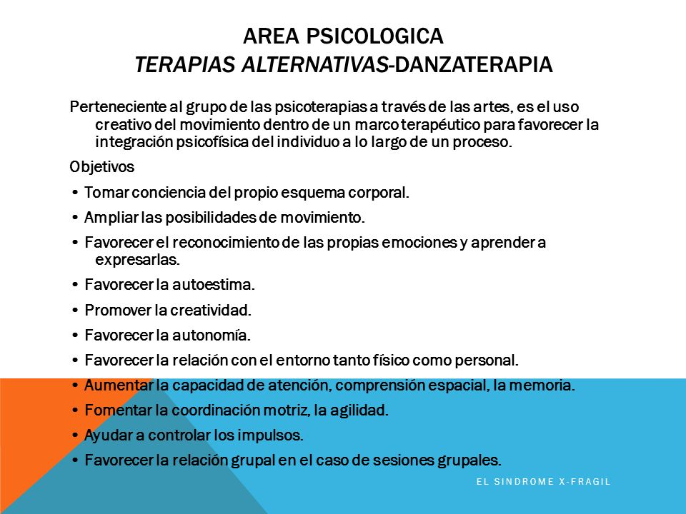 Area PSICOLOGICA TerapiaS ALTERNATIVAS-DanzaterapiA