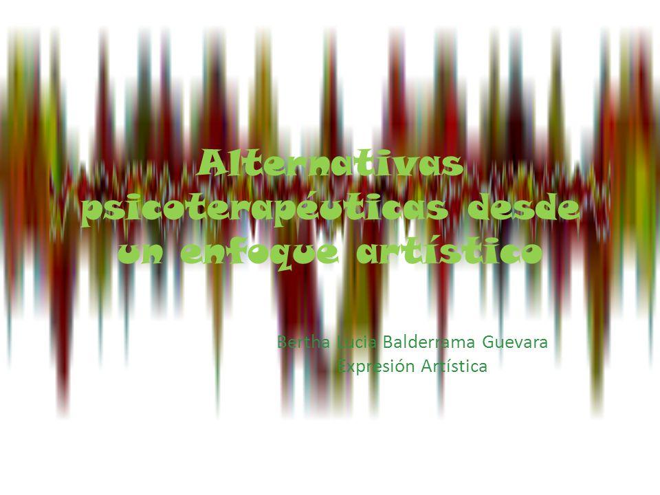 Alternativas psicoterapéuticas desde un enfoque artístico