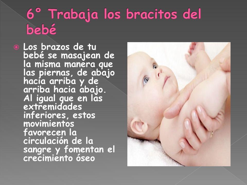 6° Trabaja los bracitos del bebé