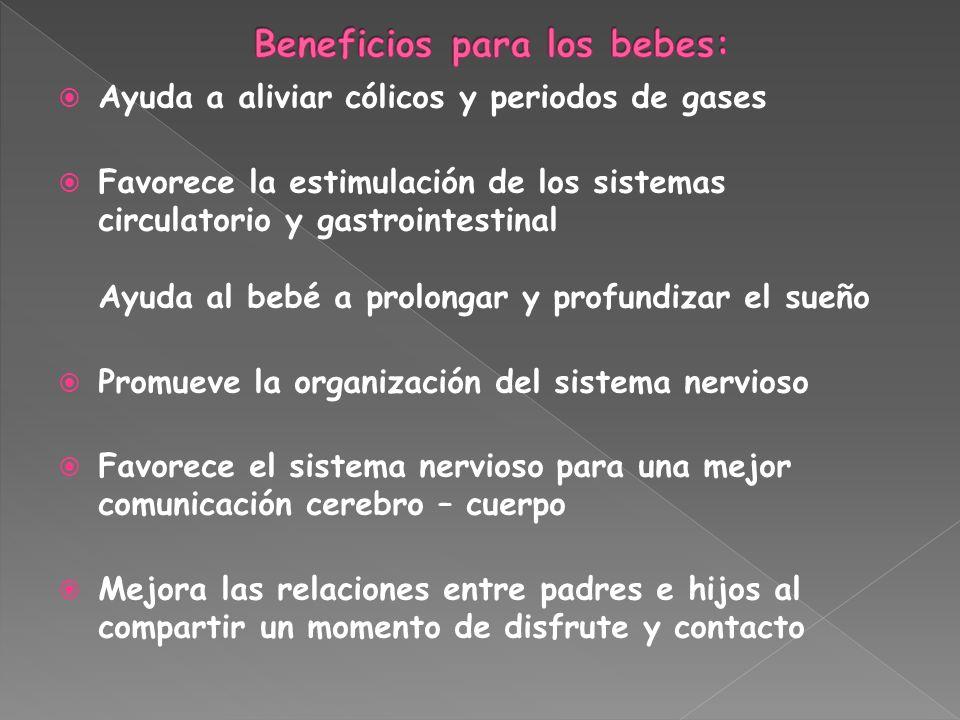 Beneficios para los bebes: