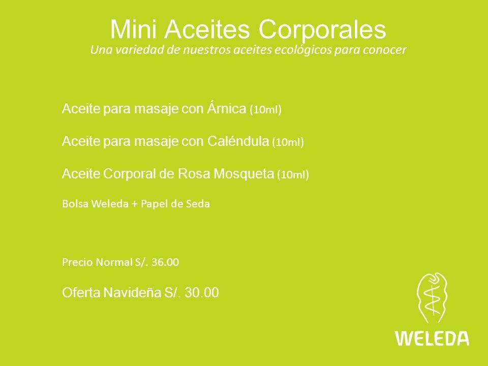 Mini Aceites Corporales