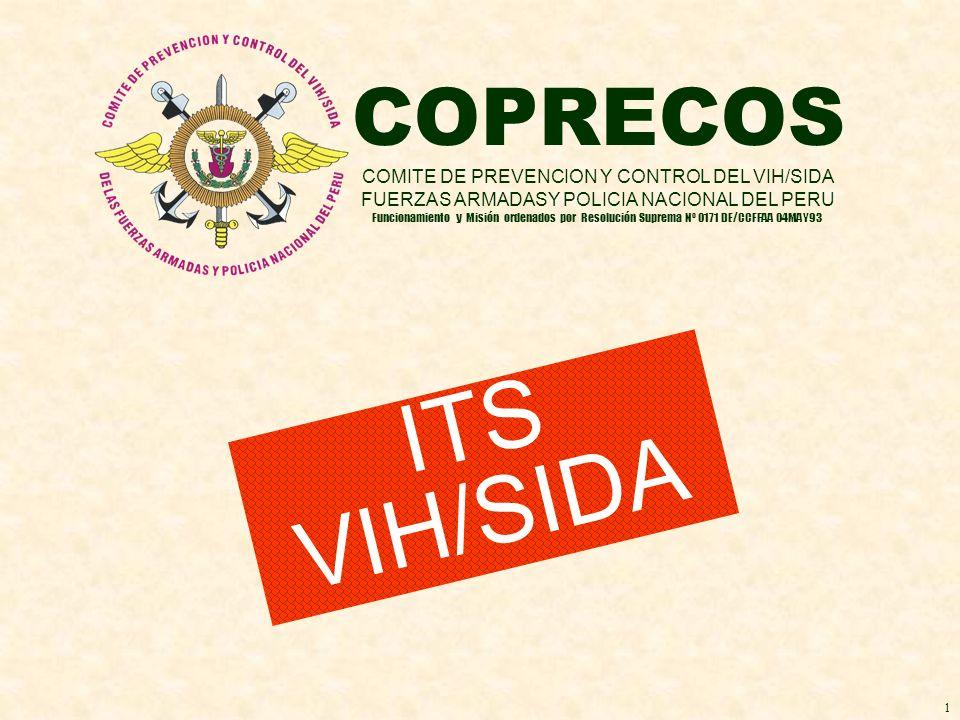 ITS VIH/SIDA COPRECOS COMITE DE PREVENCION Y CONTROL DEL VIH/SIDA