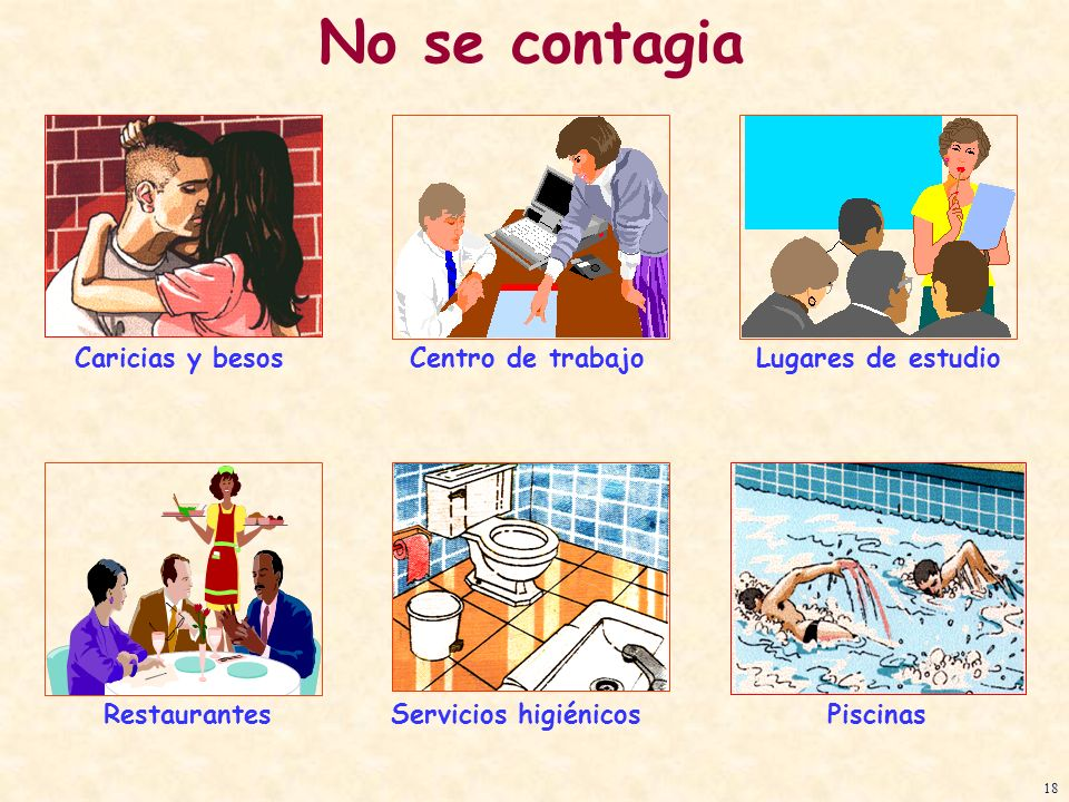 No se contagia Caricias y besos Centro de trabajo Lugares de estudio