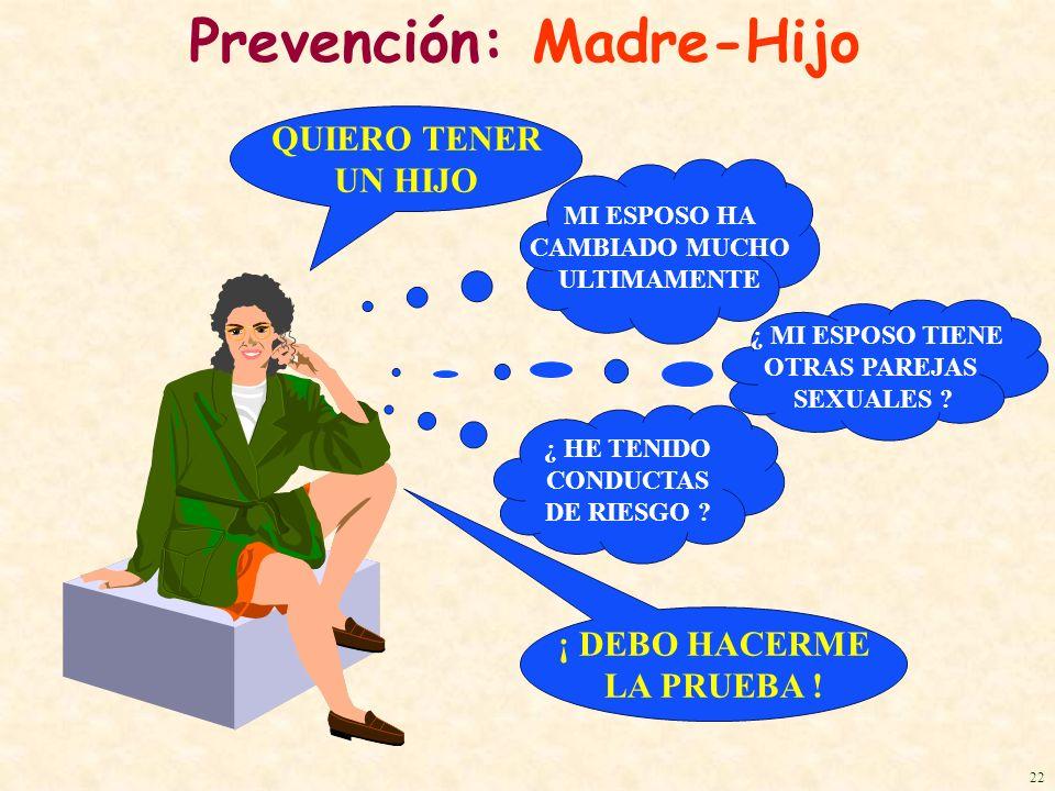 Prevención: Madre-Hijo