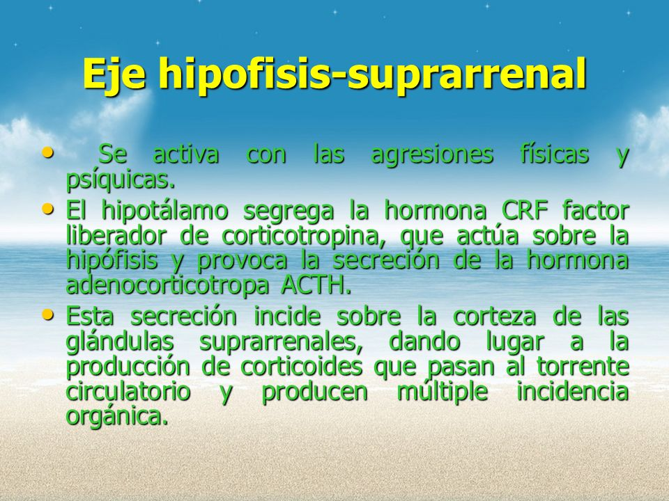 Eje hipofisis-suprarrenal