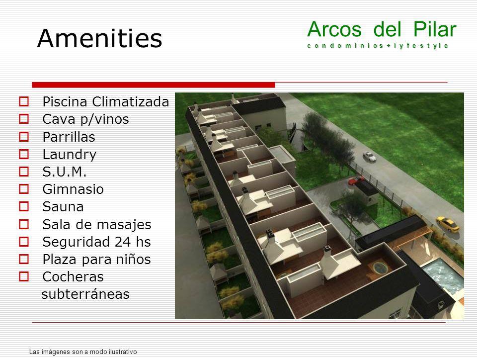 Amenities Arcos del Pilar c o n d o m i n i o s + l y f e s t y l e