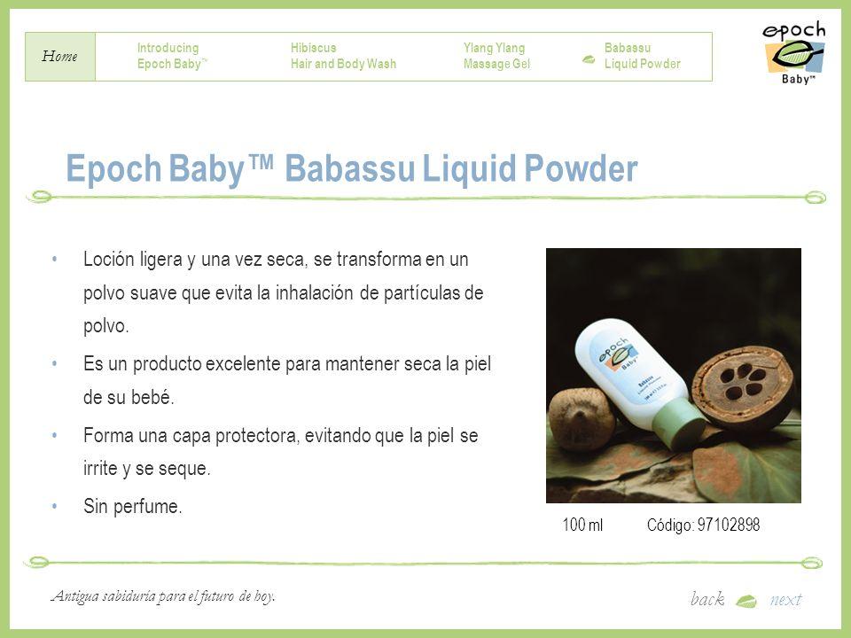 Epoch Baby™ Babassu Liquid Powder
