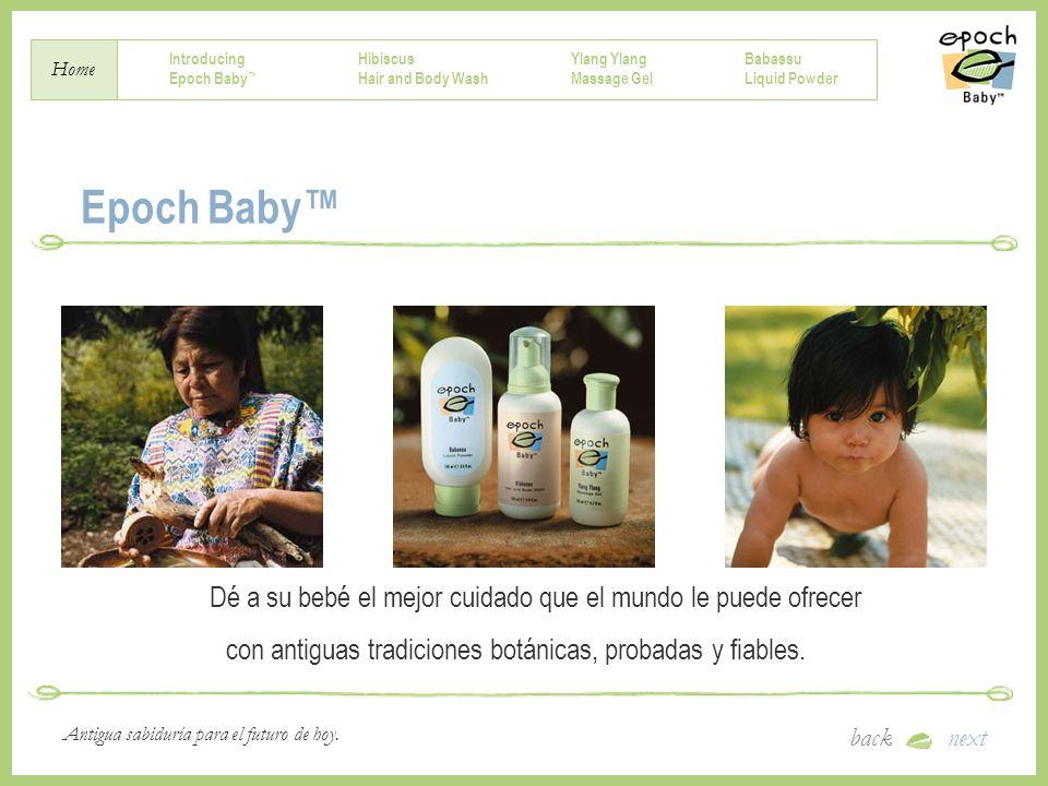 Epoch Baby™ Dé a su bebé el mejor cuidado que el mundo le puede ofrecer.