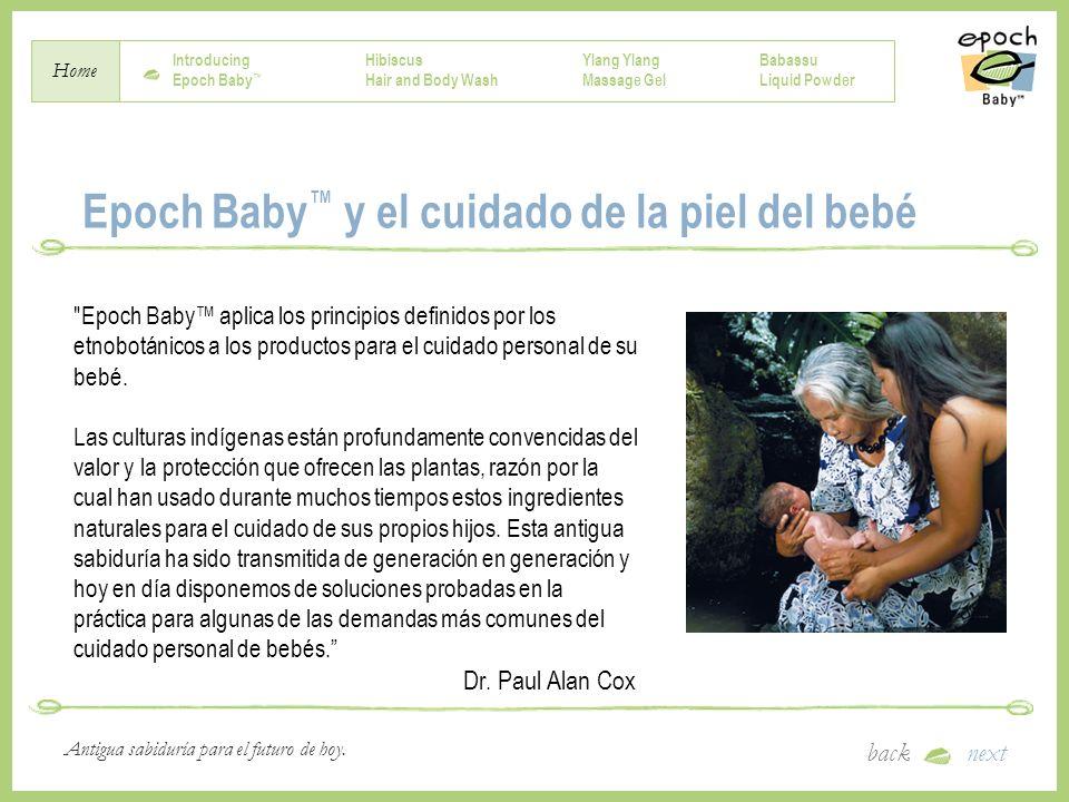 Epoch Baby™ y el cuidado de la piel del bebé