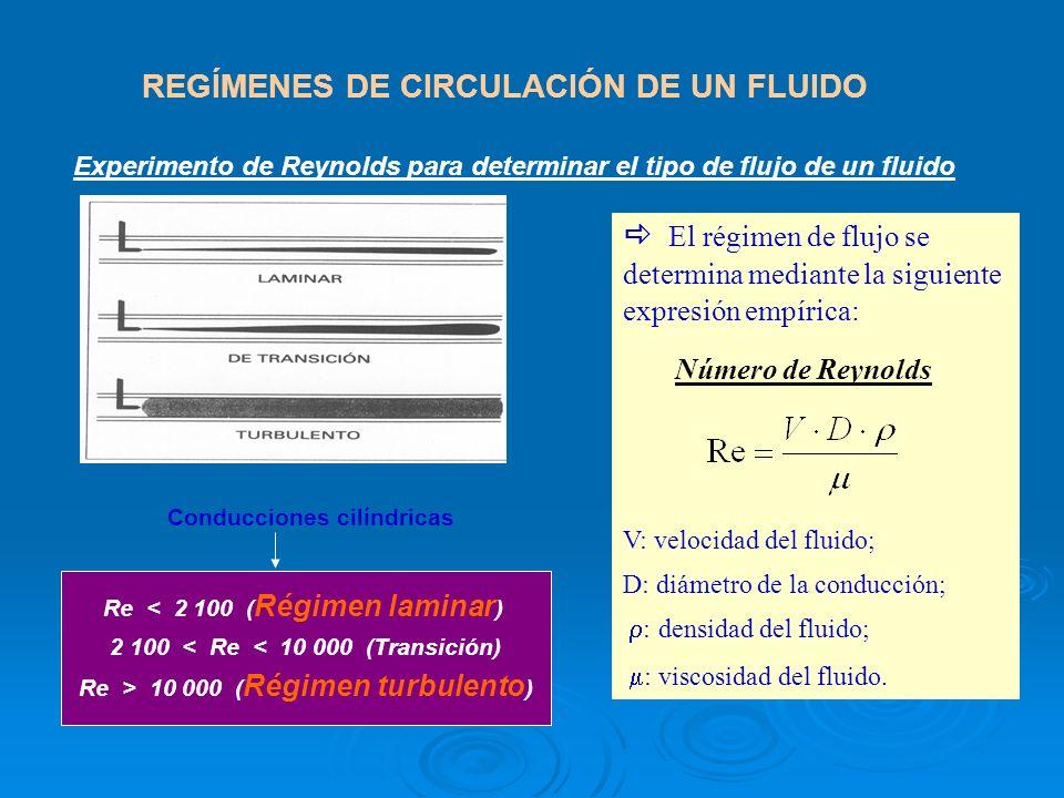 REGÍMENES DE CIRCULACIÓN DE UN FLUIDO