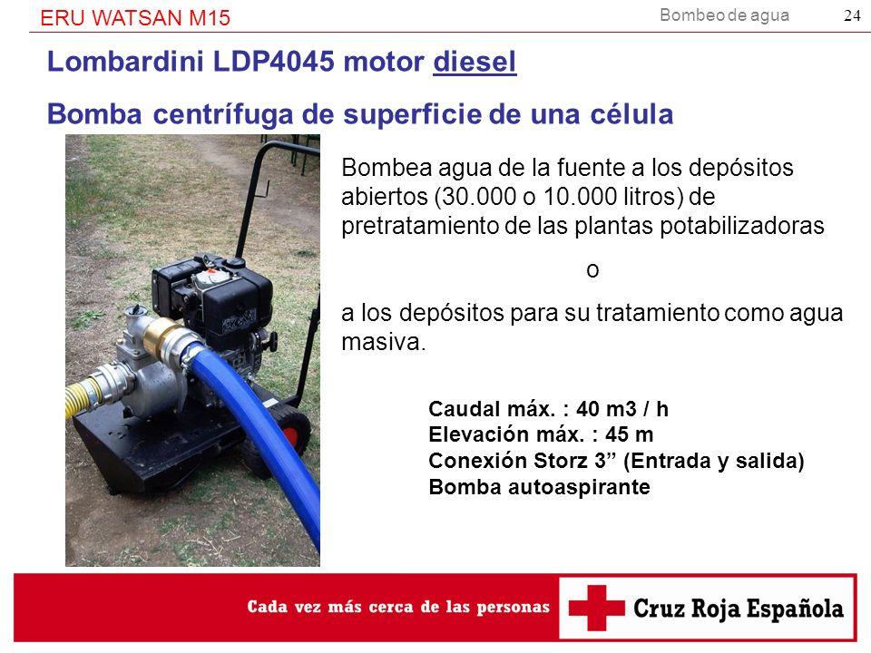 Lombardini LDP4045 motor diesel