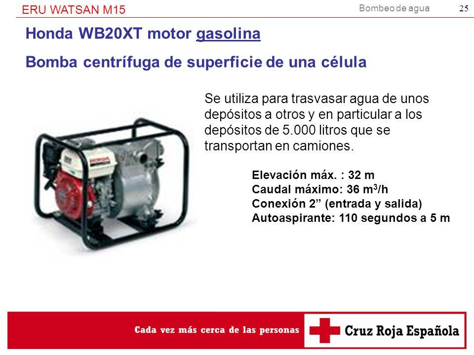 Honda WB20XT motor gasolina