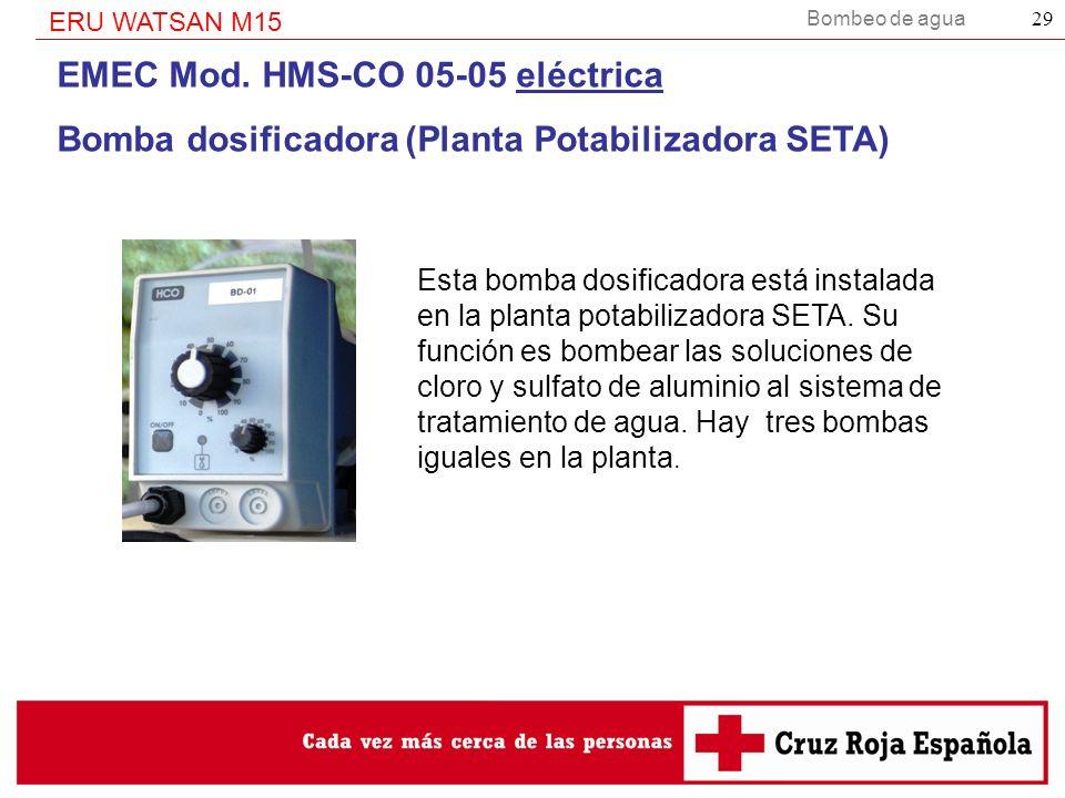 EMEC Mod. HMS-CO 05-05 eléctrica