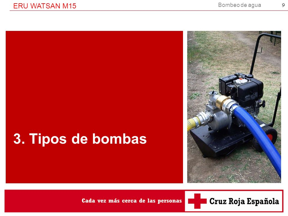 3. Tipos de bombas