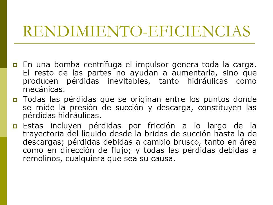 RENDIMIENTO-EFICIENCIAS