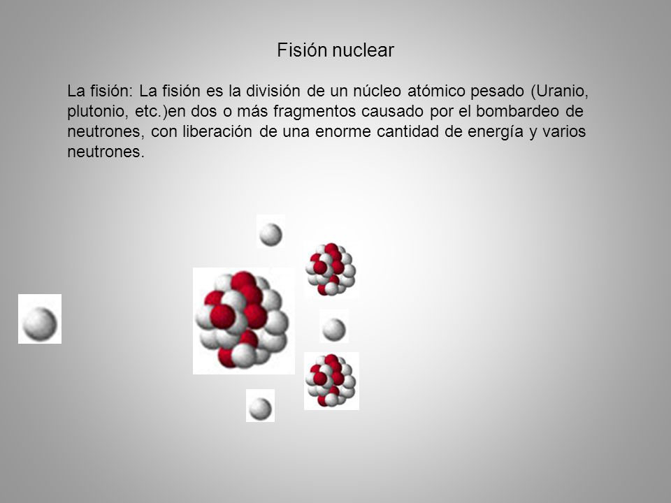 Fisión nuclear