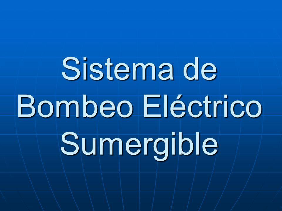 Sistema de Bombeo Eléctrico Sumergible