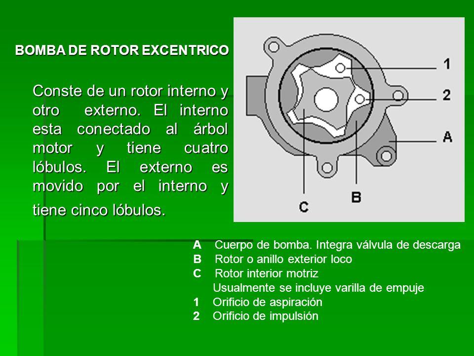 BOMBA DE ROTOR EXCENTRICO