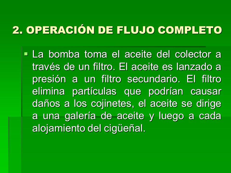 2. OPERACIÓN DE FLUJO COMPLETO