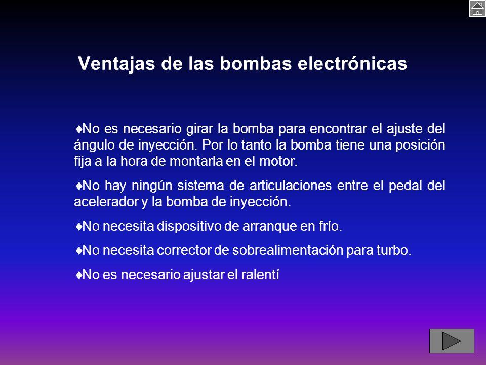 Ventajas de las bombas electrónicas