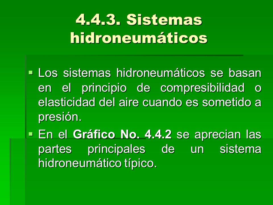 4.4.3. Sistemas hidroneumáticos
