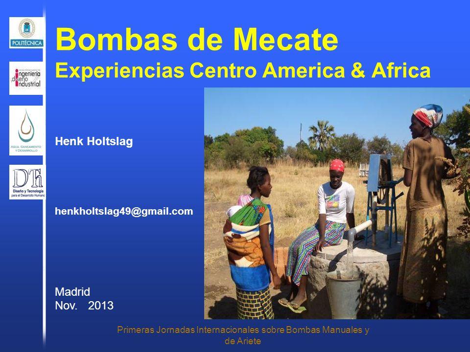 Bombas de Mecate Experiencias Centro America & Africa